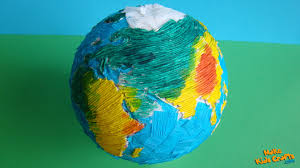 how to make a model of earth youtube