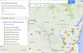 Lake Michigan Shipwrecks Map by Aqualog
