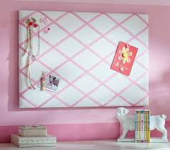 pin board ribbon pinboards pottery barn kids