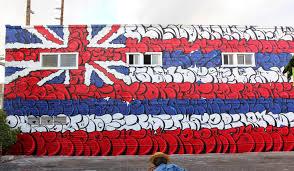 Hawaiian Flag Pow Wow Hawaii U002715 Og Slick Creates A New Mural At Fresh Cafe