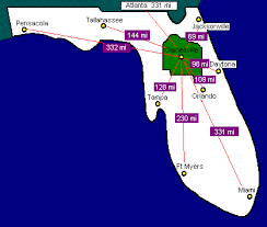 mileage map mileage map