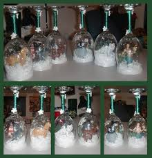 wine glass snow globes christmas wine glass snow globes by arimich on deviantart