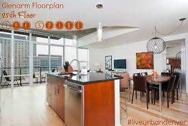 the spire u0027s most popular floorplan on the 25th floor you could