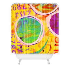 Bright Shower Curtain Bright Colored Shower Curtains