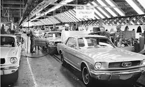ford mustang assembly plant tour ford mustang through the years mustang ford ford mustang and ford