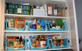 how to organize kitchen cabinets and storage decoration