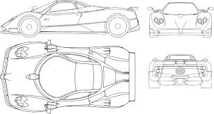 car ferrari drawing car ferrari transportation plan png image pictures picpng
