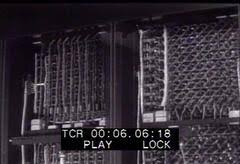 first computer eniac 8 stock footage