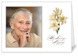 funeral memorial cards memorial cards shutterfly