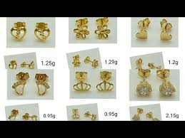 earrings saudi gold saudi gold stud earrings in designs gold studs