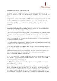 Terms And Conditions 5 Terms Conditions Facebook Prize Draw