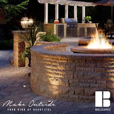 Belgard Brighton Fireplace by Outdoor Services Llc Home Facebook