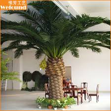 artificial canary date palm tree big date palm tree small date palm