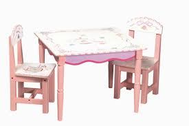 table chaise fille chambre enfant chaise enfant idée originale bois fille