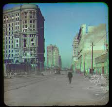 city hall san francisco halloween after the quake the earliest known color photographs of san francisco