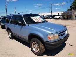 Ford Explorer 1991 - light denim blue metallic 1998 ford explorer sport 4x4 exterior