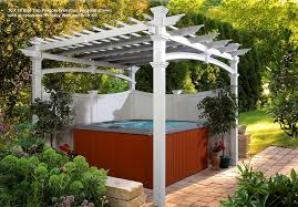 English Garden Pergola by Amazon Com Venetian 10 U0027 X 10 U0027 Vinyl Pergola Gazebos Patio