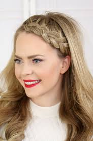 braided headbands 17 ways to make a headband with your own hair via brit co