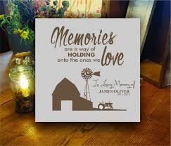 personalized in memory of gifts 13 best personalized memorial gifts images on