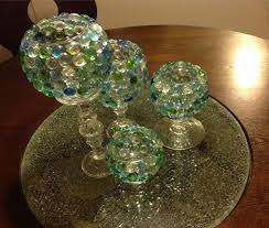 Dollar Tree Vases Centerpieces D I Y Glass Beads Candle Vases Goodwill U0026 Dollar Tree Youtube