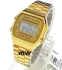 casio a168 new casio a168 a168wga illuminator vintage retro gold digital