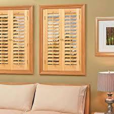 wooden shutters interior home depot wood shutters plantation shutters the home depot