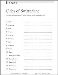 switzerland u0027s cities in abc order