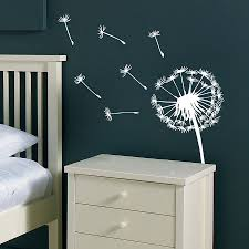 vinyl wall stickers dandelion wall sticker wall sticker dandelions and vinyl wall