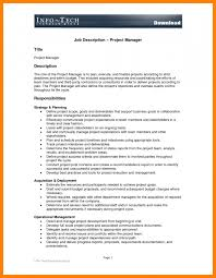 Job Desk Project Manager 8 Construction Project Manager Job Description Introduction Letter
