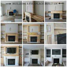 How To Finish A Fireplace - how to build a built in part 2 of 3 the fireplace mantel and