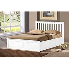 wooden ottoman storage bed double 4ft6 5ft king white oak