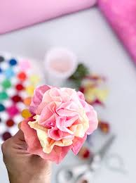 tissue paper flowers make easy tissue paper flowers the country chic cottage