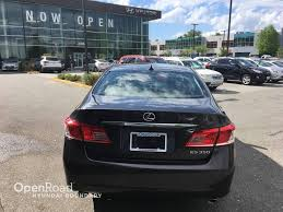 pre owned lexus vancouver used 2011 lexus es 350 for sale in boundary bc openroad hyundai