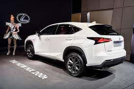 lexus nx v8 paris motor show 2014 lexus nx and rc f