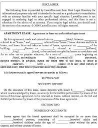 apartment lease agreement template free download speedy template