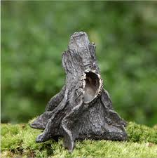 creative diy landscaping dead wood dead tree trunk more micro