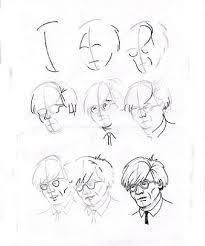 how to draw andy warhol by robert hawkins on artnet
