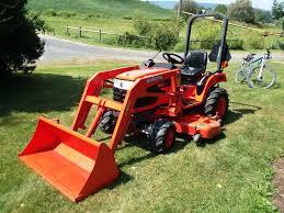 2006 kubota bx2230 compact tractor w la211 loader u0026 60 u2033 belly mower