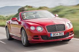 bentley coupe red 2014 bentley continental gt speed convertible first drive