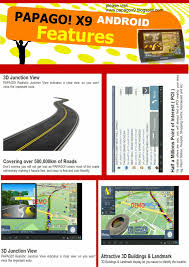 papago m9 gps navigation for all android phones