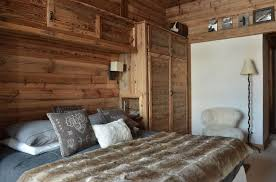 deco chambre chalet montagne chambre style chalet de montagne idées décoration intérieure