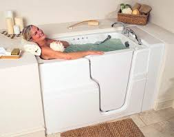 WalkIn Tub  Get Designed for Seniors Hydrotherapy Quality  Safety