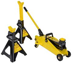 3 Ton Floor Jack Jack Stands And Creeper Set by Jegs Performance Products 79002 Hydraulic Utility Floor Jack And