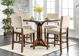 dining room sets with leaf counter high table and chairs counter height table set counter