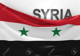 Rebel Syrian Flag Syria Flag And Country Name Stock Photo Picture And Royalty Free