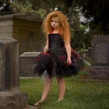 Lil Monster Halloween Costume by Aliexpress Com Buy Zombie Tutu Dress Black Red Halloween Costume
