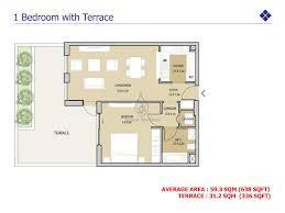 2 Bedroom Duplex Floor Plans by Mudon Views 2 Bedroom Duplex Floor Plan