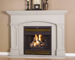 wood decorations for home decorating luxury white fireplace mantel kits with beige wall and