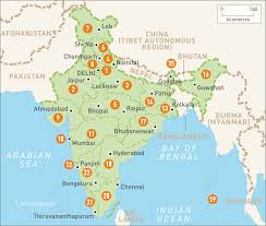 Map Of China And India by Map Of India India Regions Rough Guides