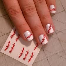 nail art unforgettable baseballil art photos design
